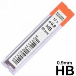 Mina Grafite 0.9mm pç 1 Tubo Tris