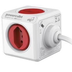 Adaptador Multiplo 5 Tom 1.5mt PowerClub Pwc-X5 Bivolt Elg