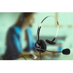 Fone c/Microfone HeadSet CHS40 RJ9  Intelbras