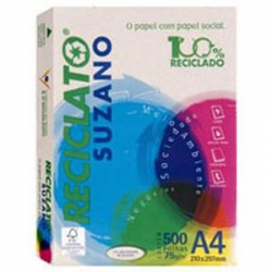 Papel A475g 500Fls Reciclado Report