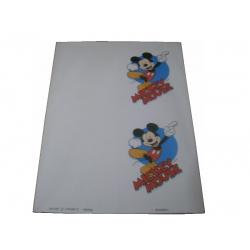 Papel A4 Convite Mickey Kids