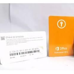 Microsoft Office 2019 Profissional Plus FPP Cartão Certificado de Autencidade