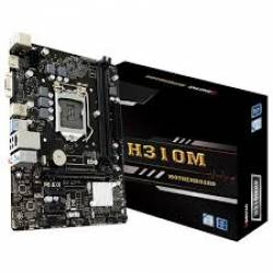 Placa Mae p/INTEL s1151 8TH H310MHD3 DDR4 Biostar