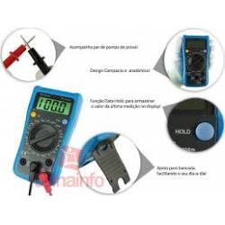 Multimetro Digital Minipa Et1110A Azul