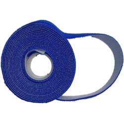 Abraçadeira de Velcro 3.0mt x 2.0cm GvFRT1301 Azul