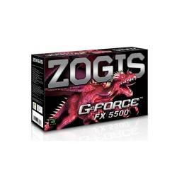 Placa de Video AGP 256mb 128Bits GF FX5500 ZOGIS