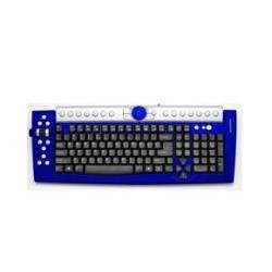 Teclado Ps2 Hunter Blue 6101***X