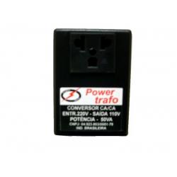 Transformador/Conversor Energia AT50 110/220 Ate 50va
