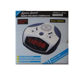 Aparelho Rádia-relógio Sound 110 ou 220