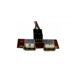 Adaptador p/Gabinete 2 USB s/ Audio