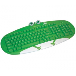 Teclado Ps2 Frog Family