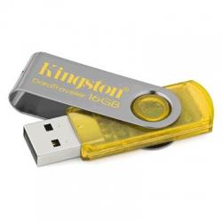 Pen-Drive 16gb Amarelo Kingston  7*