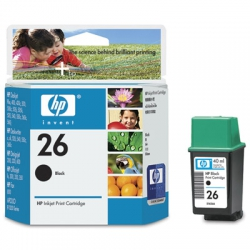 Cartucho HP. 51626A 26A 40ml Preto Original