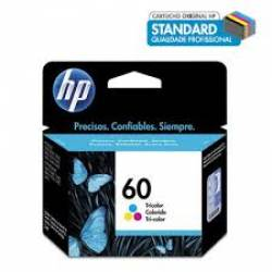 Cartucho HP. CC643W 60C 4ml Col Orig