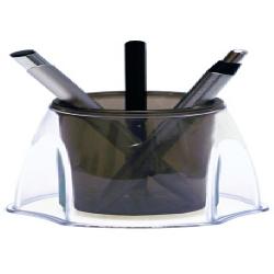 Porta Canetas Fume/Cristal DxL3020.I