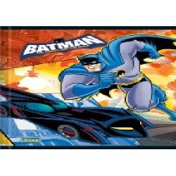Caderno 1/4 Brochura 96fls CF Batman