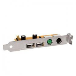 Adaptador p/Placa Mãe PS/2/USB/1 infra (PROMOÇÃO)