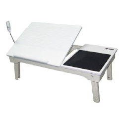Mesa p/ Notebook c/ Hub Branca xLd9105