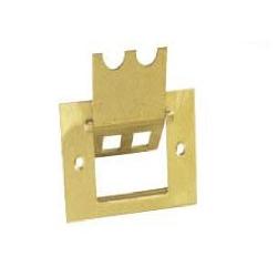 Espelho Latão 4x2 Dourado Massaro
