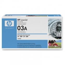 Toner HP C3903A 03A Preto Original