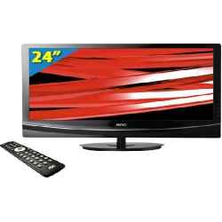 TV 24 LED MONITOR  LE24M1475 c/HDMI/VGA/RCA/LAN e USB AOC