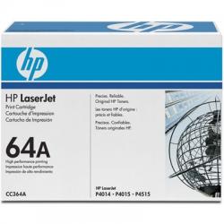 Toner HP CC364A 64A Preto Original