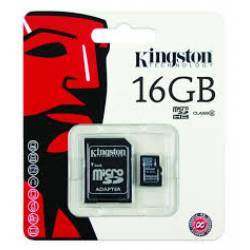 Memoria Cartão 16Gb Micro  SD Classe 10 Kingston..