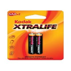 Pilha AAA Alcalina Xtralife 2uds Kodak