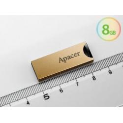 Pen-drive 8gb Usb 2.0 Dourado cq3005