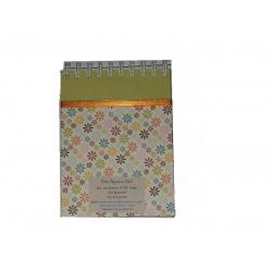 Bloco Rascunho Pequeno Flor cpd Verde 6509 CPD