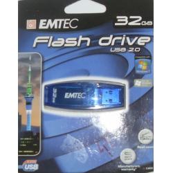 Pen-Drive 32gb C400 Emtec Azul