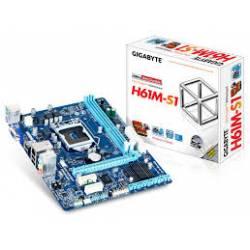 Placa Mae p/Intel s1155 H61M GigaByte