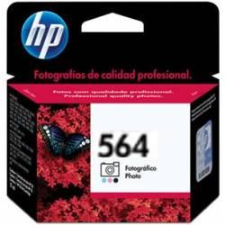 Cartucho HP. CB317W 564F Photo Preto Orig