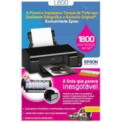 Impressora Epson Tanque Tinta L800 CD/DVD FOTO 110v