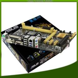 Placa Mãe p/INTEL s1150 ASUS H81M-C/BR  BOX