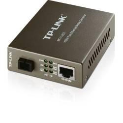 Conversor de Fibra Ethernet Rj45 p/Fibra Optica MC112CS TP-LINK