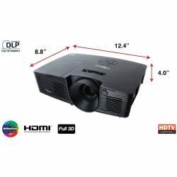 Projetor. Optoma 3200Ansi  s316 c/HDMI 3D