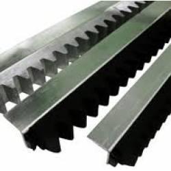 Barra de Cremalheira Deslizante Aluminio 1,50m RCG