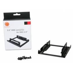Adaptador e Conversor 3,5 p/2x 2,5 HDD e SSD Thermaltek Ac0014