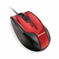 Mouse Usb Optico Gamer Vermelho/Preto mLtMO149 Multilaser