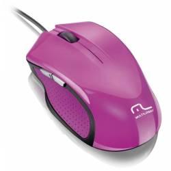 Mouse Usb Optico XGamer 6 Botoes 2400Dpi Roseo mLtMO201 Multilaser