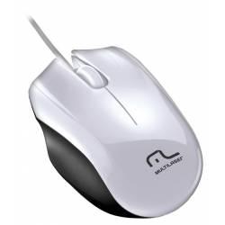 Mouse Usb Optico Sport Branco mLtMO217 Multilaser