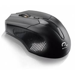 Mouse Usb Optico s/Fio 2.4Ghz até 1600Dpi Preto mLtMO221 Multilaser