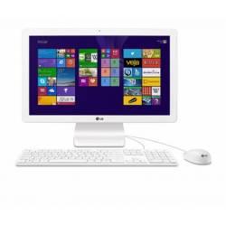 MicroComputador All In One LG Intel Quad Core Até 2.2Ghz/4gb/500gb/Tela 21 Full HD Windows 10 64Btis