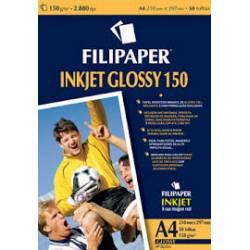 Papel Glossy Photo A4 c/ 10fls 150g Filipaper