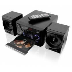 Mini System c/DVD Player USB 20w RMS mLtSP141 Multilaser