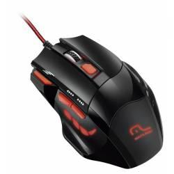 Mouse Usb Optico Preto Gamer Perfornancer mLtMO236 Multilaser