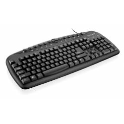 Teclado PS2 Multimidia Mod. 0401 Preto mLtTC080 Multilaser