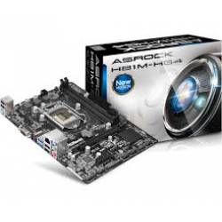 Placa Mãe p/INTEL s1150 H81M-HG4/M/CKD c/VGA e HDMI Asrock